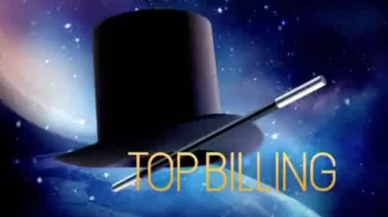 Gillian Holl on Top Billing October 2014