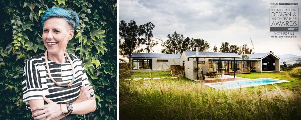 15 Minutes with Gillian Holl, founder and principal of Veld Architects in Johannesburg, South Africa